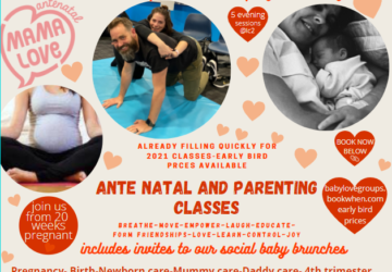 Mamalove Ante Natal classes and updates