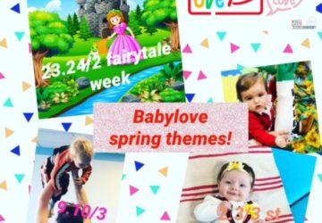 Babylove at Home spring block 1